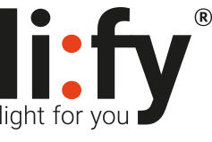 li:fy - light for you Logo